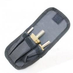 Stegborr, 3st, 4 - 32mm. Cylindriskt fäste.